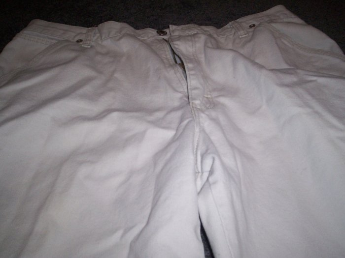 Mens 36 x 32 Khaki Carpenter Jeans