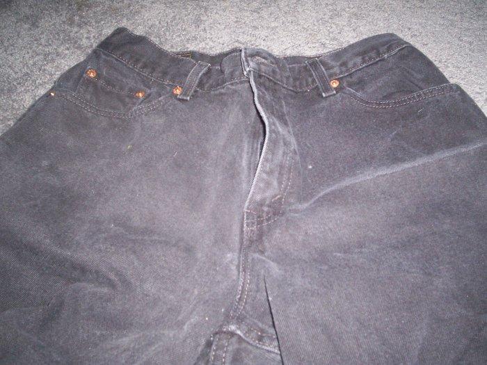 Women's Black Levi 550 Jeans size 12 reg