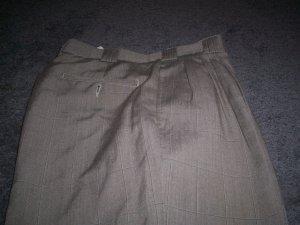 Men's Identity Itialian Brown Slacks Size 32m