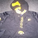 Iowa Hawkeyes Winter Starter Jacket  size large boys
