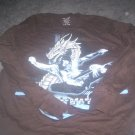 Boy's Large Dragon and Skateboard Tee with Long Sleeves by RudeBoyzs