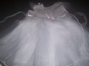 Girl's White Easter Dress Size 3T