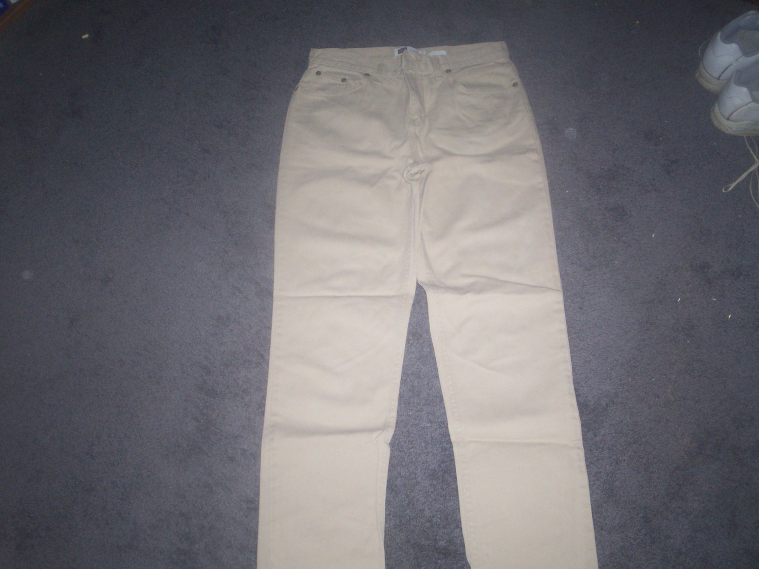 Women's Faded Glory  Khaki Jeans Size 8
