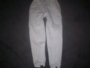 Women's White Tappered Leg Size 9/10 Jordache Jeans