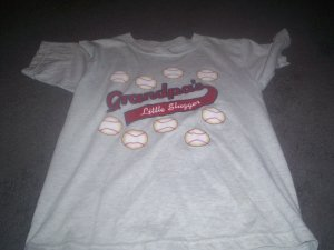 Boy's Baseball Tee-shirt size size 10/12 Large by Endless Design's
