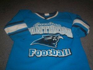 Boy's GTS Football Mesh Jersey Carolina Panthers SIze 5/6