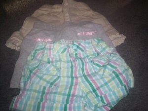 Girl's Shorts 3 Pair Size 4T