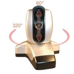 IP Surveillance Camera with Angle Control and USB Webcam Server