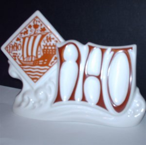 Nao Lladro Hand Made Porcelain Spain Store Display Sign