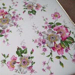 Two Czechoslovakia Tile Saji Fine China Hot Plates Trivet