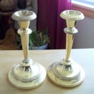 Silver Plated Candle Holders England candlesticks