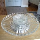 Lazy Susan Relish Tray and Bowl Vintage
