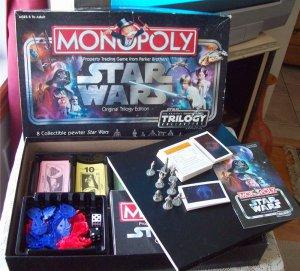 Monopoly Star Wars Original Trilogy Edition Parker Bros. 2004