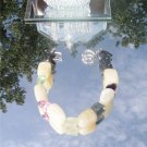 Bold Calcite and Flourite Nugget Bracelet  #1020