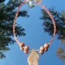 Atumn Jasper Leaf Pendsant Necklace #0005