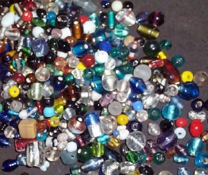 Quarter Pound India Lampwork Beads #lwmix-1