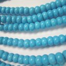 Turquoise Rondell Beads Blue 8x5mm