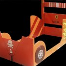New Custom Wooden Race Car TWIN BED w/ Any Theme & Name Red Shown Here