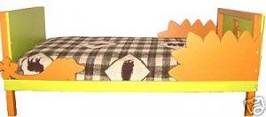 Wood  Dinosaur Toddler Bed