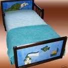 Wooden Mermaid Girls Toddler Bed