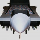 F15 Strike Eagle Jet Airplane Twin Bed or full size bed kids bed good with airplane bedding