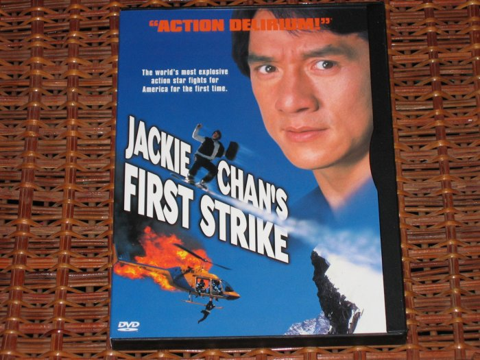 Jackie Chan's First Strike DVD Mint!