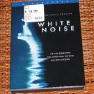 White Noise DVD Michael Keaton Mint!