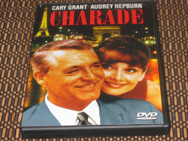 Charade DVD Cary Grant & Audrey Hepburn Mint!