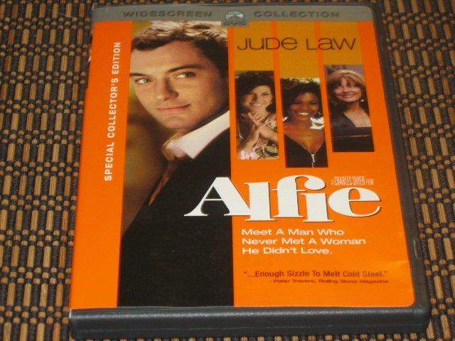 Alfie DVD Jude Law & Marisa Tomei Mint!