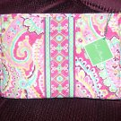 Vera Bradley Large Bow Cosmetic Capri Melon tags never used