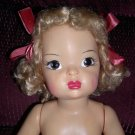 "Terri Lee 16"" Blonde Hard Plastic Doll 1950's"