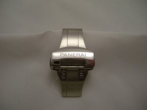 Polished Stainless Deployment Buckle Clasp for PANERAI