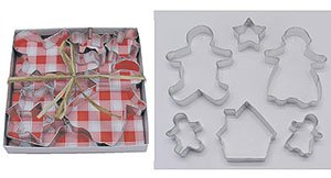Gingrebread Family Set - 6 Pieces