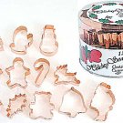 Holiday Copper-Plated Set - 12 Pieces,  L1986