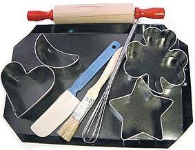Kiddie Bake Set - 9 Pieces,  L2250