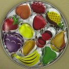 Mini Fruit Set in Storage Tin - 12 Pieces, L405