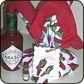 Hot Mama Cornbread Mix Bandana Gift Set