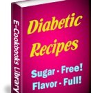550 DELECTABLE DIABETIC RECIPES EBOOK, NO SUGAR, DIET