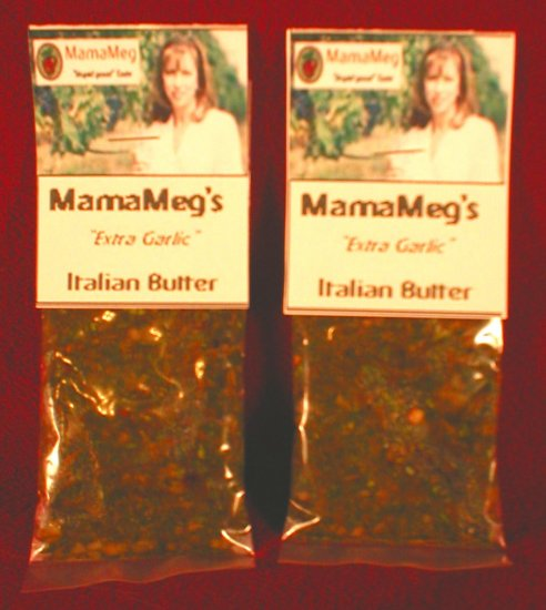 "MamaMeg's ""Extra Garlic"" Italian Butter Blend"