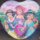 "Disney Princess Party (8) 9"" Heart Shaped Dinner Plates"