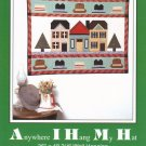 Anywhere I Hang My Hat Wall Hanging Pattern ~ FREE SHIPPING ~