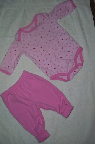 2pc. Outfit  With Hearts
