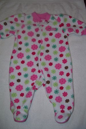 1pc. Fleece Footed Sleeper