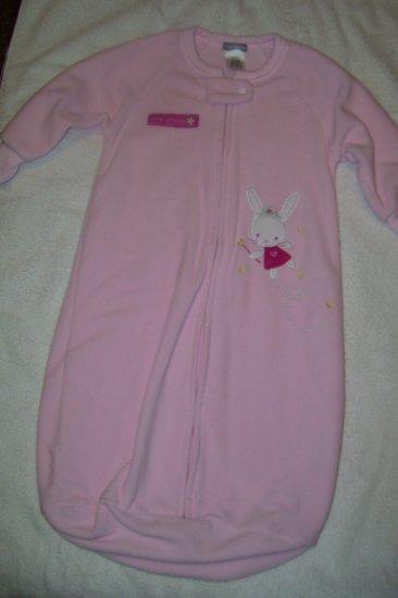Light Pink Fleece Sleep Sack