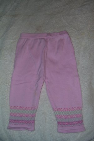 Pink Pants With Design