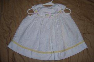 Yellow/White Floral Dress