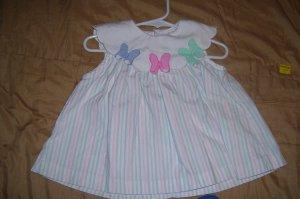 Triped Print Dress