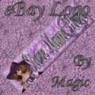 Purple Wiccan Witch Customized eBay Store Logo 310 X 90 #L024