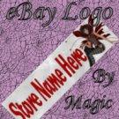 Dark Fairy Customized eBay Store Logo 310 X 90 #L027