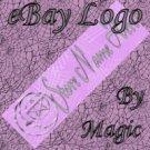 Lavender Moon Pentagram Customized eBay Store Logo 310 X 90 #L037